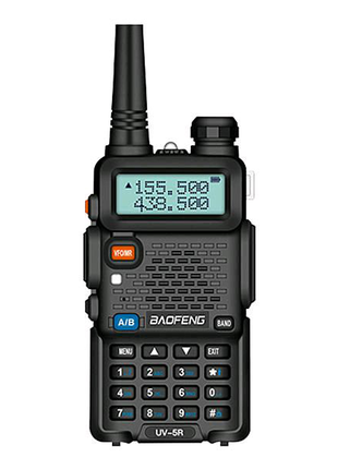 Рация Baofeng UV-5R Радиостанция + ГАРНИТУРА ОРИГИНАЛ