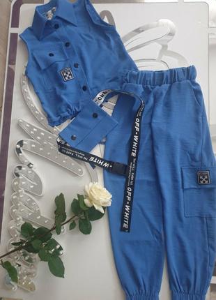Костюм, рубашка та джогери