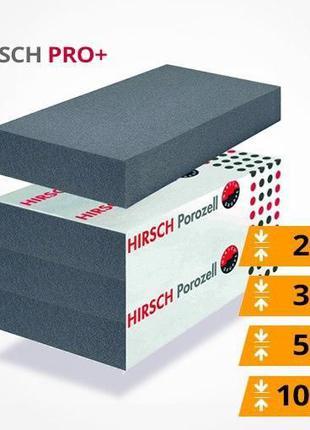 Графитовый пенополистирол Хирш (HIRSH PRO+) для фасадов и под ...
