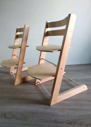 Деревянный растущий стул