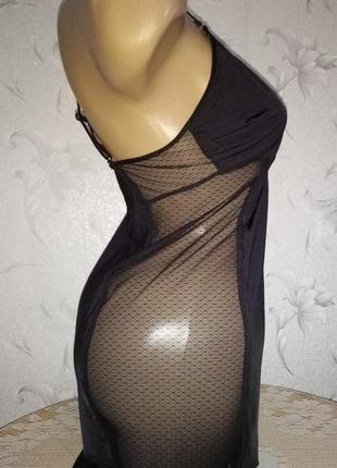 Женственная, эротическая ночная рубашка - пеньюар.