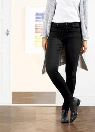 Черные джинсы зауженные, skinny скинни м 38 euro, esmara, lidl...
