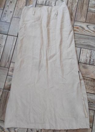 Гарна легка юбка максі XS