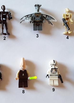 Коллекционные фигурки LEGO Star Wars Сет 2