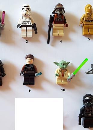 Коллекционные фигурки LEGO Star Wars Сет 1