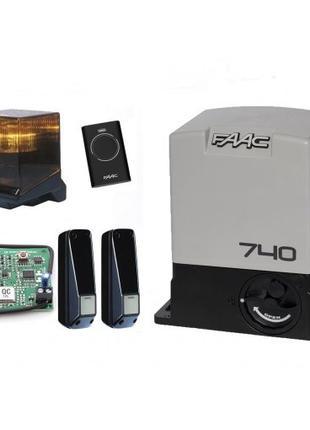 FAAC 740 для створки вагою до 500 кг автоматика фак для ворот