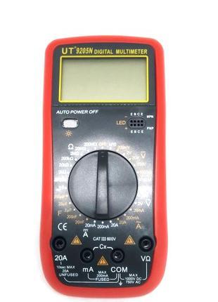 Цифровой Профессиональный мультиметр тестер вольтметр