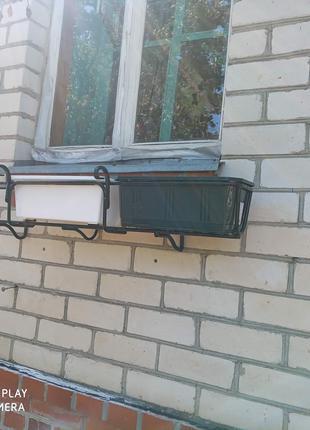 Подставки для вазона. Подставка для балконов и окон.