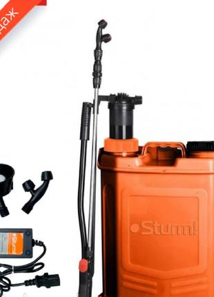 Опрыскиватель аккумуляторныйSturm GS8216BM (16 литров)