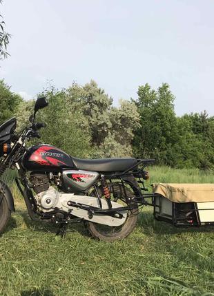 Прицеп для мопеда, мотоцикла, квадроцикла.