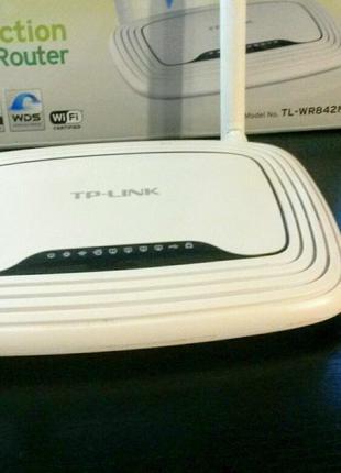 Маршрутизатор WI-FI роутер TP-Link TL-WR842ND