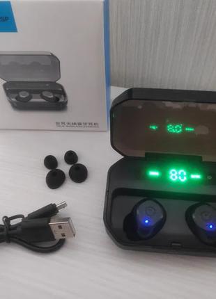 Беспроводные Bluetooth наушники с шумоподавлением и микрофоном