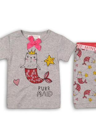 Летняя пижама на девочку р.74-128 англия