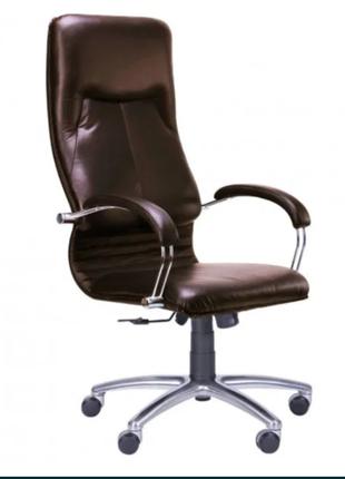 Офисное кресло Ника кожаное кресло руководителя компьютерный стул