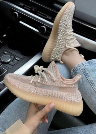 Кроссовки Adidas Yeezy Boost V2 350 Pink | Кросівки Адидас Изи