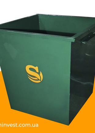 Мусорный контейнер для ТБО 0,75 м3