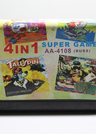 Игровой Картридж Sega Mega Drive   4in1