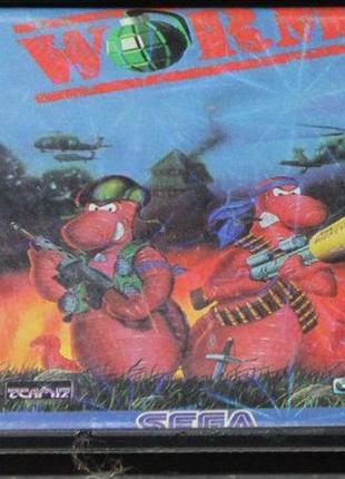 Worms   Sega Mega Drive   Игровой Картридж
