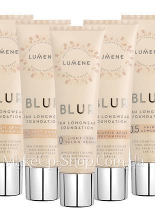 Стойкая тональная основа Lumene Blur Longwear Foundation SPF15