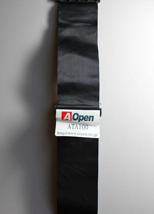 Шлейф IDE-IDE-IDE «AOpen» ATA-100 IDEx3 (39pin) 47 см (Black)