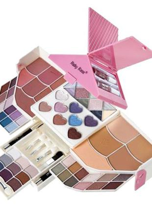 Набор для макияжа Домик Ruby Rose Deluxe Beauty Cosmetic Kit