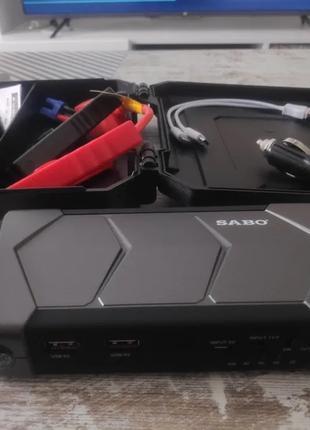 Пусковое зарядное устройство для авто (бустер повербанк)
