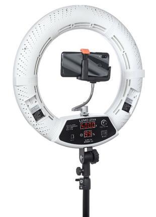 Кольцевая диодная лампа LUMO ULTRA™ | 105 Ватт | диаметром 45 см.