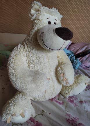 Мягкая игрушка, медведь Fancy, 45см