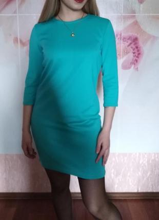 Платье мятного цвета!