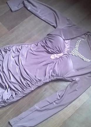 Очень касивое вечернее платье утяжка! с болеро!