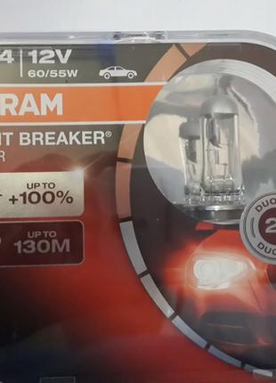 Лампа галогеновая 12V H4 60/55W Osram 64193NBS-HCB