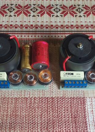3х полосные фильтра ручной работы, до 160 Вт, 500/5000 Гц