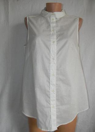 Новая кремовая блуза h&m