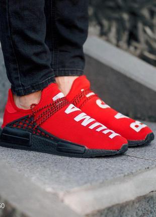 👟 кроссовки  мужские human race red / наложенный платёж👟