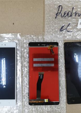 Дисплейный модуль, экран Xiaomi Redmi 3, 3S, 3S Prime, 3X чёрн...