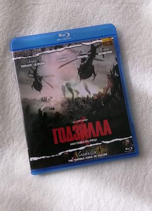 Годзилла Godzilla 2014 Blu ray