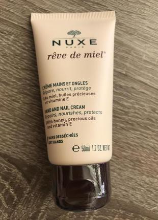 Крем для рук и ногтей медовая мечта Nuxe