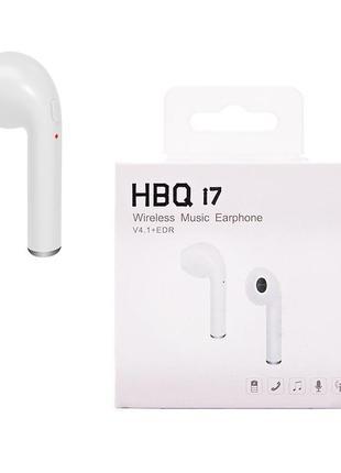 Наушники беспроводные HBQ i7 (1наушник)