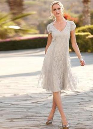 Кружевное платье 50 размер