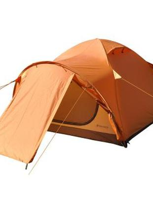 Четырехместная оранжевая палатка  (9192)