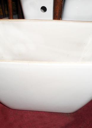Бачок сливной для унитаза (13,5 см), керамика, боковой залив воды