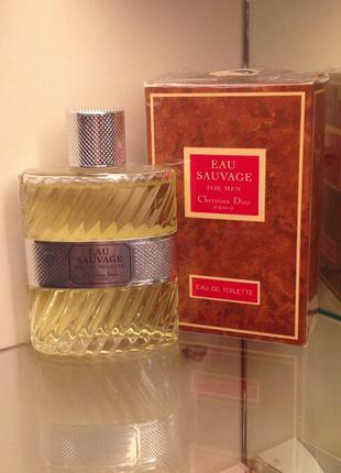 Christian Dior  ,,Eau Sauvage,,-50ml Vintage