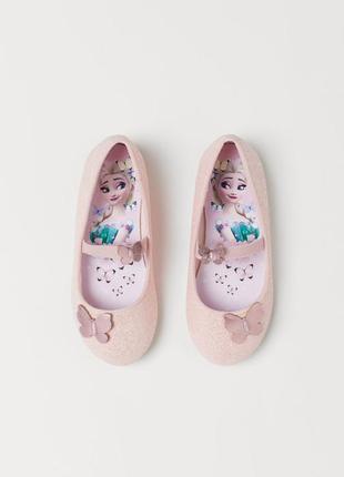 Туфли для девочки оригинал эльза холодное сердце фроузен h&m