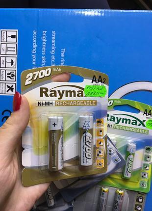 Аккумуляторные батарейки АА ААА палец мини палец новые Заряжается