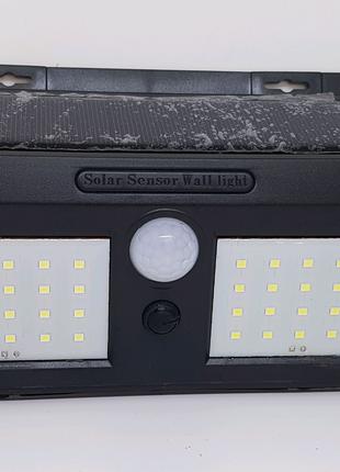 Уличный фонарь 40 диодов На солнечной батарее с датчиком движения