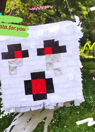 Пината пиньята Майнкрафт Гаст Minecraft