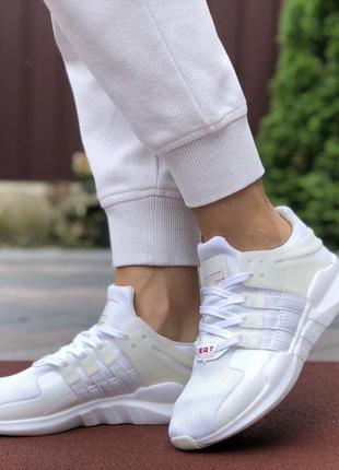 Трендовые женские кроссовки adidas equipment белые
