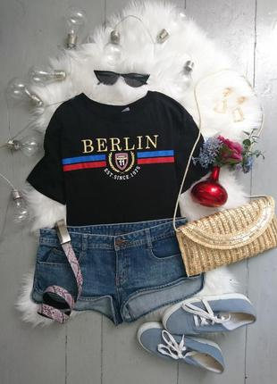 Актуальные джинсовые мини шорты №285