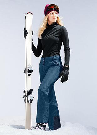 Модные лыжные брюки tchibo германия, размер 42евро (наш 48)