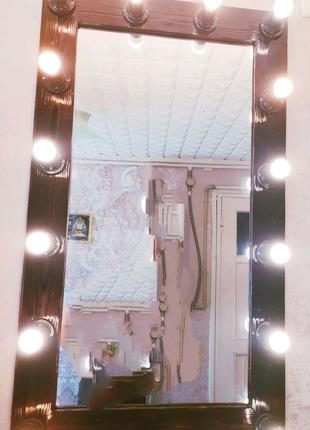 Гримерные зеркала зеркало с лампочками зеркало визажиста